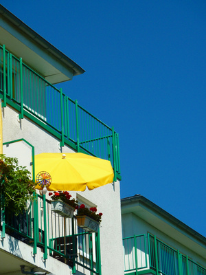 Sonnenschutzfolien; Foto: Lupo / pixelio.de