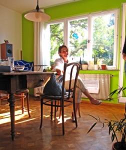 Stromsparen durch die richtige Wandfarbe; Foto: Rainer Sturm / pixelio.de