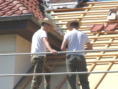 Dach dämmen; Bild: Rita Köhler/ pixelio.de