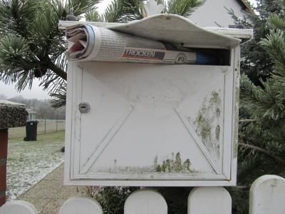Ist der Briefkasten zu klein? Bild: www.haushaltsgeld.net/pixelio.de