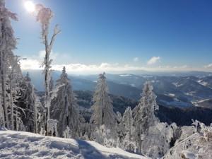 Wetter: Detailbetrachtungen zum Schnee; Bild: Martin Quast / pixelio.de