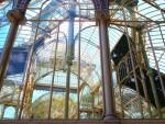 """Aufnahme aus dem Glashaus aus dem """"Parque del Retiro"""" in Madrid; Bild: Eva Lilje / pixelio.de"""