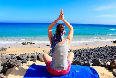 Yoga; Bild: Julien Christ / pixelio.de