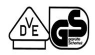 VDE-Prüfzeichen, Geprüfte Sicherheit GS