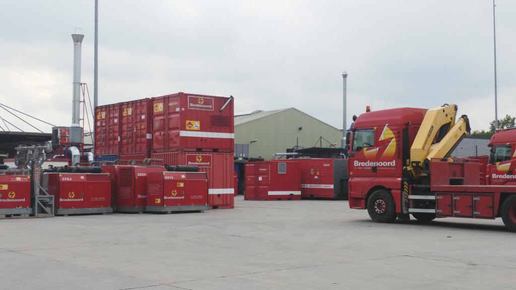 Stromerzeuger mieten - Bredenoord GmbH