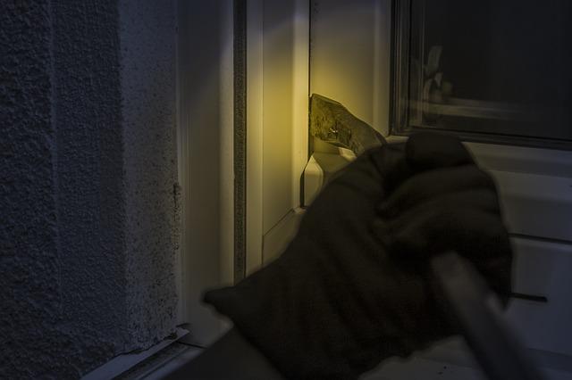 Alarmgesicherte Fenster