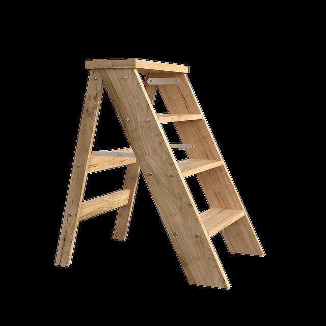 Holzleiter: Die Vorteile
