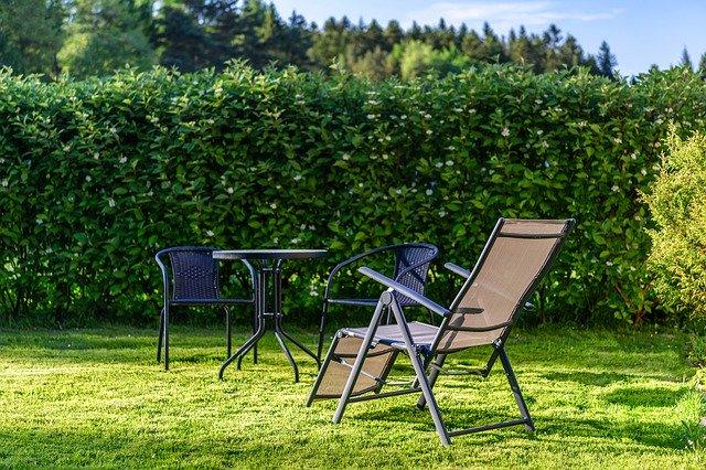 Der Garten bietet vielseitige Nutzungsmöglichkeiten