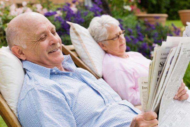 Wohnen im Alter; Bild: © Jupiterimages/Polka Dot/Thinkstock