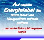 Auf welche Energielabel Sie beim Kauf von Neugeräten achten sollten