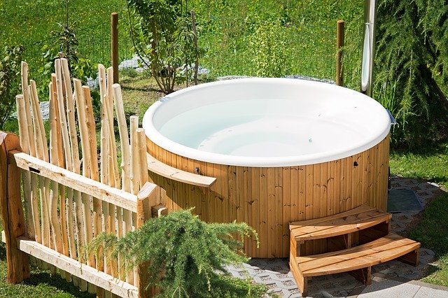 Entspannung pur im Hot Tub