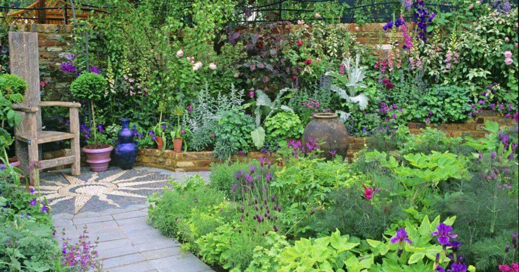 3 Tipps, wie in Ihren Kleingarten stilvoll aufpeppen und größer erscheinen lassen