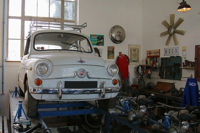 Hebebühne in der privaten Garage nutzen